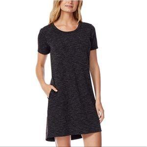 NWT 32 Degree short sleeve round hem heather dress